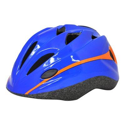Cykelhjälm junior Cool, blå