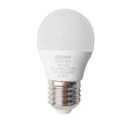 LED lampa G45 470lm E27 2700K