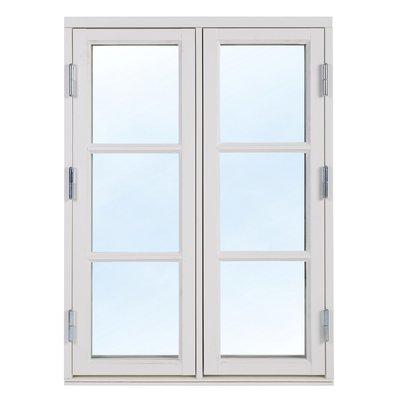 2+1 Traditionsfönster - Trä - 2-luft - Målat