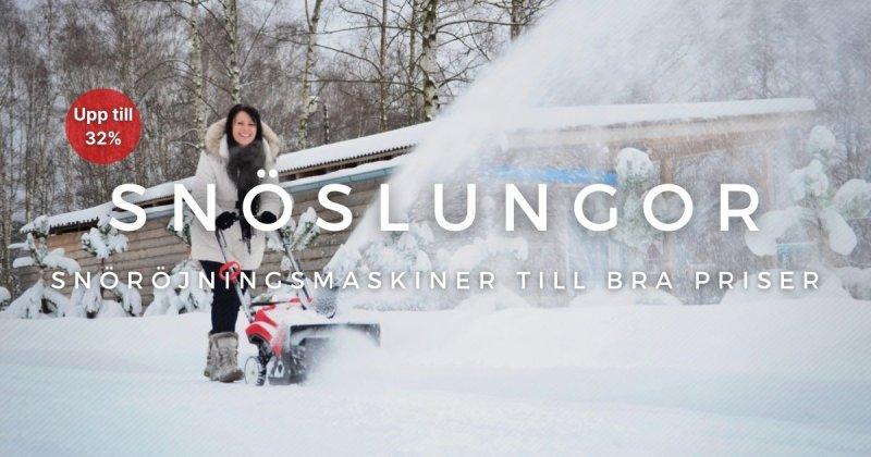 Snöslungor - Spara upp till 32%