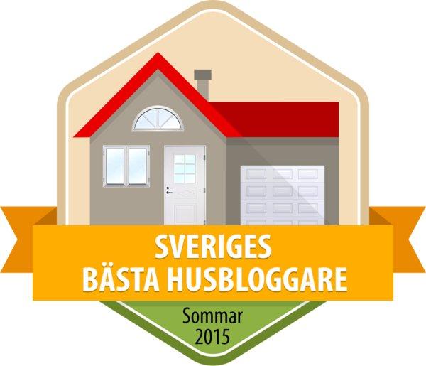 Sommaren 2015 - bästa husbloggarna