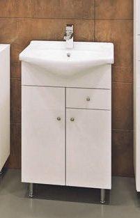 Tvättställsskåp Kacper, med tvättställ