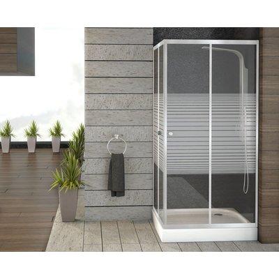 Square duschdörrar - Säkerhetsglas