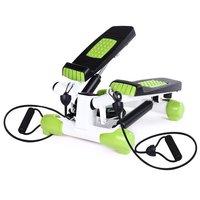 Stepmaskin - Med träningsband & träningsdator (svart-grön S3033)