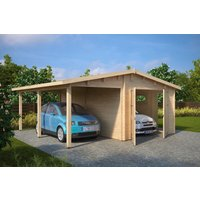 Garage & carport Magda A - 31,5 m²