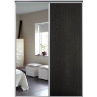 Venedig skjutdörr till garderob - 2 dörrar - Spegel/panel - Valfri färg