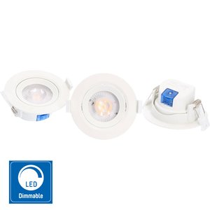 LED-spotlights 360lm - Dimbar | IP20