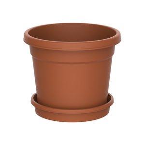 Planteringskruka med fat 37 l
