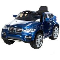 Blå BMW X6 för barn - Med fjärrkontroll