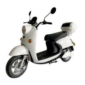 Elmoped Scooter - 1600W Vit