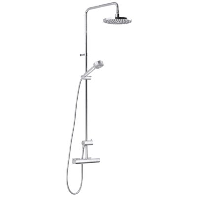 Mora Rexx Shower Kit - Paket med takdusch och duschblandare - Krom