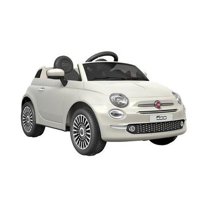 Elbil för barn Fiat 500 - vit
