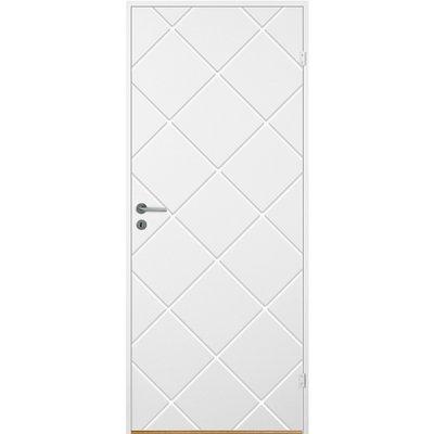 Innerdörr Bornholm - Kompakt dörrblad med spårfräst dekor A12