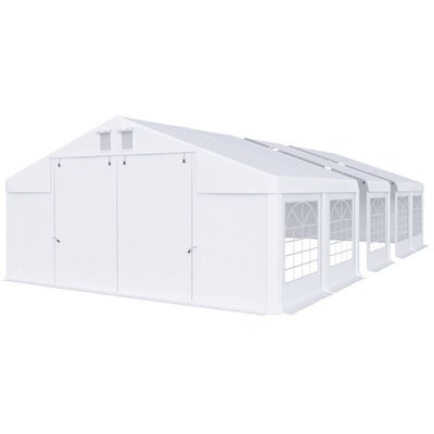 Partytält i PVC - 5 x 14 m