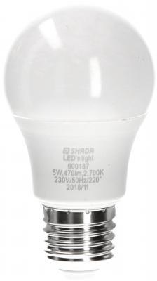 LED lampa A60 470lm E27 2700K