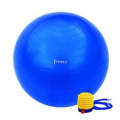 Pilatesboll 55 cm - Flera färger (pump ingår)