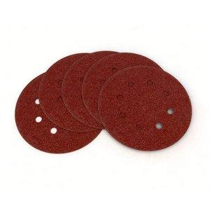 Sandpapper cirkelslip 125 mm 10 st