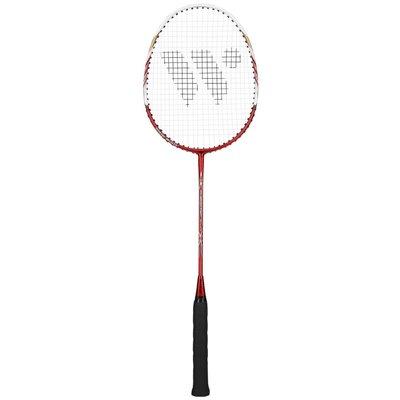 Badmintonracket (röd & vit) ALUMTEC 2000