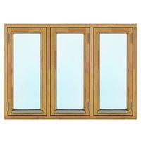 2-glasfönster Trä utåtgående - 3-Luft - Omålat - U-värde 1.3