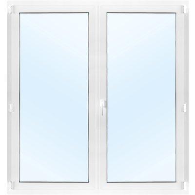 Parfönsterdörr 3-glas Inåtgående med tilt - PVC - U-värde 0,96