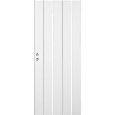 Skjutdörr Bornholm - Kompakt - Spårfräst dekor SX1