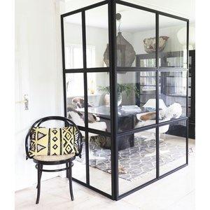 Industrivägg - Glasvägg - Bygg din egen vägg i moduler