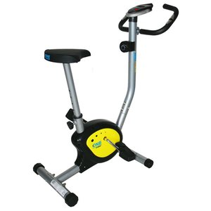 Träningscykel S - Mekanisk (W1201) svart & gul