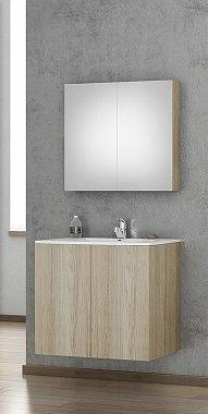 Möbelpaket Primo 75 Wood Cut med spegel