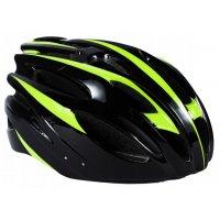 Cykelhjälm - Svart & grön