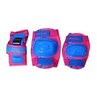 Inlinesskydd rosa & blå