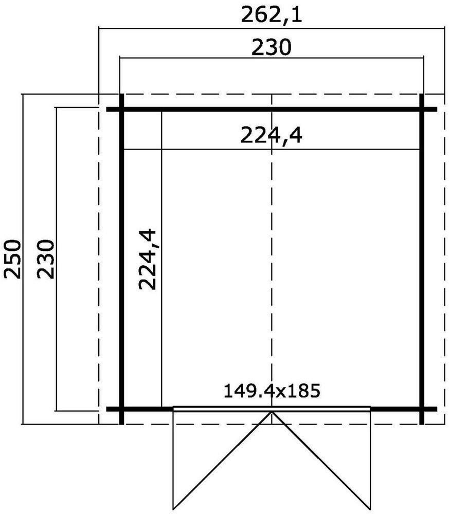 Förråd Willy – 5,5 m²
