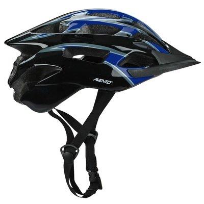 Cykelhjälm senior svart & blå