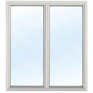 Fast fönster med bågpost - Trä - 2-glas