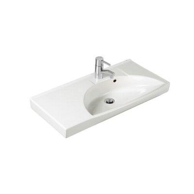 Ifö Sign tvättställ 75 cm Compact höger 7762 Vit